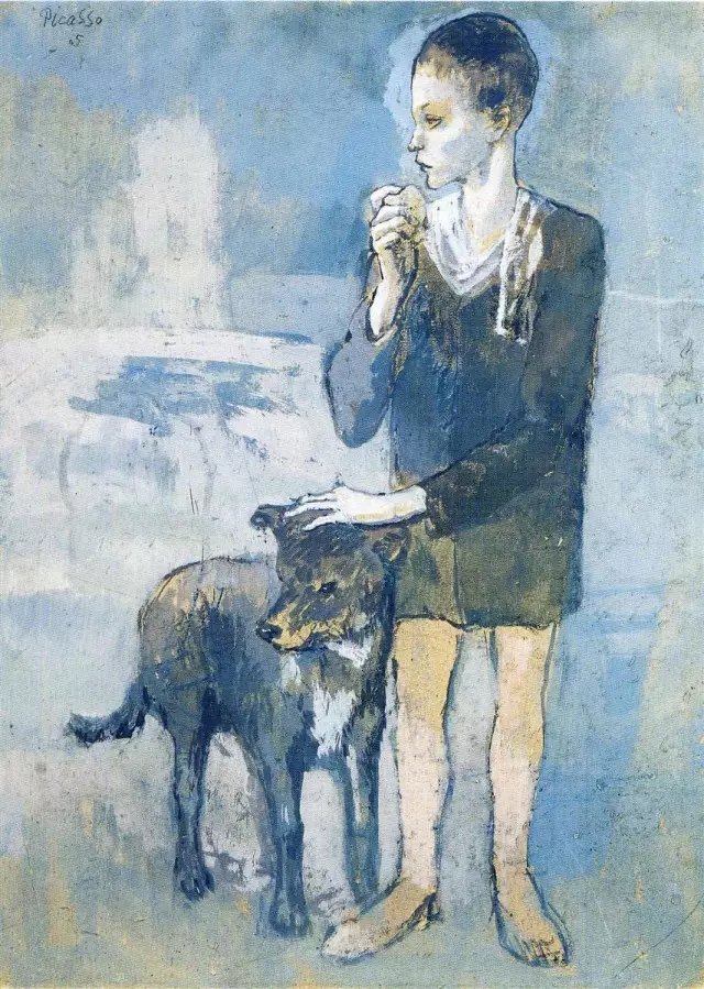 Pablo Picasso, Boy with a Dog.webp
